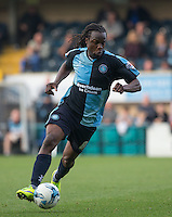 Marcus Bean of Wycombe Wanderers in action during the Sky Bet League 2 match between Wycombe Wanderers and Northampton Town at Adams Park, High Wycombe, England on 3 October 2015. Photo by Andy Rowland.