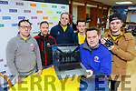 Chris McGillicuddy and Tadhg Fleming and the staff from Brand Geeks  l-r: Mike Cunningham, Eoin O'Connell, Kieran Healy and Davin Barrett who have produced a touching video about suicide awareness