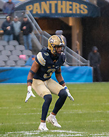 Pitt defensive back Damar Hamlin. The Pitt Panthers football team defeated the Duke Blue Devils 54-45 on November 10, 2018 at Heinz Field, Pittsburgh, Pennsylvania.