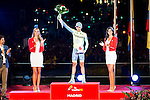 Alberto Contador win the award of more combative cyclist La Vuelta a España 2016 in Madrid. September 11, Spain. 2016. (ALTERPHOTOS/BorjaB.Hojas)