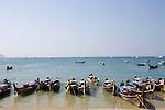Strand von Railay, Ao Nang, Provinz Krabi, Thailand