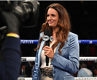 CARSON, CA - MAY 1: Fox Sports reporter Heidi Androl on the Fox Sports PBC Pay-Per-View fight on May 1, 2021 at Dignity Health Sports Park in Carson, CA. (Photo by Frank Micelotta/Fox Sports/PictureGroup)