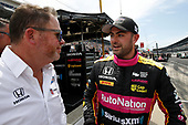 Verizon IndyCar Series<br /> Indianapolis 500 Carb Day<br /> Indianapolis Motor Speedway, Indianapolis, IN USA<br /> Friday 26 May 2017<br /> Jack Harvey, Michael Shank Racing with Andretti Autosport Honda with Mike Shank <br /> World Copyright: Michael L. Levitt<br /> LAT Images