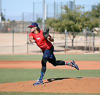 Penn Murfee works out with the USA Baseball Premier 12 Team at the Kansas City Royals complex on October 28, 2019 in Surprise, Arizona (Bill Mitchell)