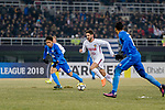 AFC Champions League 2018 Group Stage E Match Day 1 between Tianjin Quanjian and Kitchee S.C at Tianjin Olympic Center Stadium on 13 February 2018 in Tianjin, China. Photo by Marcio Rodrigo Machado / Power Sport Images