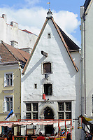 An der Straße Viru in Tallinn (Reval), Estland, Europa, Unesco-Weltkulturerbe
