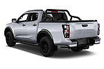 Car pictures of rear three quarter view of 2021 Isuzu D-Max V-Cross 4 Door Pick-up Angular Rear