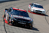 NASCAR XFINITY Series<br /> U.S. Cellular 250<br /> Iowa Speedway, Newton, IA USA<br /> Saturday 29 July 2017<br /> Kyle Benjamin, Reser's Toyota Camry and Sam Hornish Jr, Discount Tire Ford Mustang<br /> World Copyright: Russell LaBounty<br /> LAT Images