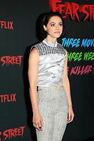 LOS ANGELES - JUN 28:  Elizabeth Skopel at Netflix's Fear Street Triology Premiere at the LA STATE HISTORIC PARK on June 28, 2021 in Los Angeles, CA