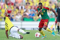 Colombia's Juan Guillermo Cuadrado (l) and Cameroon's Karl Toko Ekambi during international friendly match. June 13,2017.(ALTERPHOTOS/Acero) (NortePhoto.com) (NortePhoto.com)