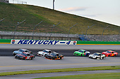#22: Austin Cindric, Team Penske, Ford Mustang Snap-On, #9: Noah Gragson, JR Motorsports, Chevrolet Camaro Switch, #1: Michael Annett, JR Motorsports, Chevrolet Camaro TMC, #20: Harrison Burton, Joe Gibbs Racing, Toyota Supra Dex Imaging