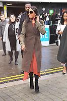 Naomie Campbell<br /> arriving for WE Day 2019 at Wembley Arena, London<br /> <br /> ©Ash Knotek  D3485  06/03/2019