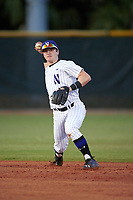 Northwestern Wildcats second baseman Willie Bourbon (24) during a game against the Saint Leo Lions on March 4, 2016 at North Charlotte Regional Park in Port Charlotte, Florida.  Saint Leo defeated Northwestern 5-3.  (Mike Janes/Four Seam Images)