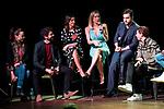 "Leonor Watling, Paco Leon, Alexandra Pereira, Kira Miro, David Bustamante and Adrian Lastra attends to the presentation of the ""Proyecto Sonrisas"" at Gran Teatro Principe Pio in Madrid. March 23, 2017. (ALTERPHOTOS/Borja B.Hojas)"