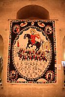 Sakip Sabanci Museum, Mardin, southeastern Turkey: yazma or handprinted fabric by Syriac Nasra Simmes-Hindi