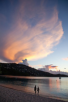Sunset at Magen's Bay.<br /> St. Thomas.US Virgin Islands