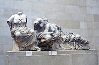 Greek Arts:  Parthenon-- Elgin Marbles.  Trustees of the British Museum.