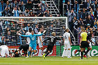 St. Paul, MN - Sunday April 28, 2019: Minnesota United FC defeated D.C. United 1-0 during their Major League Soccer (MLS) match at Allianz Field.