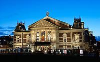 Nederland  Amsterdam - 12-01- 2021.   Het Concertgebouw bij het Museumplein.    Foto : ANP/ HH / Berlinda van Dam