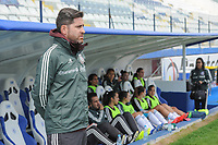 20190306 - LARNACA , CYPRUS : Mexican head coach Christopher Cuellar pictured during a women's soccer game between Czech Republic and Mexico , on Wednesday 6 March 2019  at the Antonis Papadopoulos Stadium in Larnaca , Cyprus . . This last game for both teams which decides for places 5 and 6 of the Cyprus Womens Cup 2019 , a prestigious women soccer tournament as a preparation on the Uefa Women's Euro 2021 qualification duels. PHOTO SPORTPIX.BE | STIJN AUDOOREN