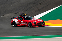 29th April 2021; Algarve International Circuit, in Portimao, Portugal; F1 Grand Prix of Portugal, driver and team arrival and inspection day;  Safety Car Mercedes-AMG GT R