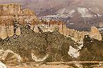 Ridge, Abra Granada, Andes, northwestern Argentina