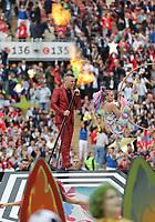 Robbie Williams bei der Eröffnung der Fußball-WM - 14.06.2018: Russland vs. Saudi Arabien, Eröffnungsspiel der WM2018, Luzhniki Stadium Moskau