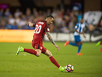 San Jose, Ca - Friday March 24, 2017: Geoff Cameron during the USA Men's National Team defeat of Honduras 6-0 during their 2018 FIFA World Cup Qualifying Hexagonal match at Avaya Stadium.