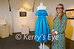Rebecca Kemp with the dress belonging to 1961 Rose of Tralee Josie Ruane from Cork, which will go on display at the Kerry Museum in Tralee.
