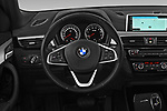 Car pictures of steering wheel view of a 2018 BMW X2 Advantage 5 Door SUV