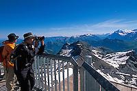 Schweiz, auf dem Schilthorn im Berner Oberland
