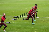 U19 Spieler im Eintracht Training in der Länderspielpause - Eintracht Frankfurt Training, Commerzbank Arena