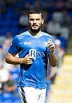 St Johnstone FC Season 2018-19…  McDiarmid Park    <br />Tony Watt<br />Picture by Graeme Hart. <br />Copyright Perthshire Picture Agency<br />Tel: 01738 623350  Mobile: 07990 594431