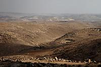 South Hebron hills, Masafer Yata, August 2013.