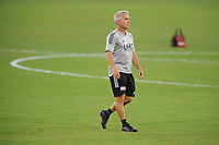 WASHINGTON, DC - AUGUST 25: Richie Williams New England Revolution Assistant Head Coach during a game between New England Revolution and D.C. United at Audi Field on August 25, 2020 in Washington, DC.