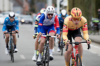 Rasmus Tiller (NOR/Uno-X)<br /> <br /> 64th E3 Classic 2021 (1.UWT)<br /> 1 day race from Harelbeke to Harelbeke (BEL/204km)<br /> <br /> ©kramon