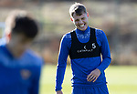 St Johnstone Training….09.10.20     <br />Jason Kerr pictured enjoying himself during training at McDiarmid Park this morning ahead of tomorrow's Betfred Cup game against Brechin.<br />Picture by Graeme Hart.<br />Copyright Perthshire Picture Agency<br />Tel: 01738 623350  Mobile: 07990 594431