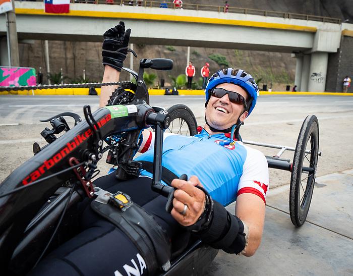Matthew Kinnie - Lima 2019. Para Cycling // Paracyclisme.<br /> Mathew Kinnie competes in the road race // Mathew Kinnie participe à la course sur route. 01/09/2019.