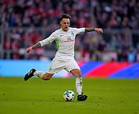 21.01.2018,  Football 1.Liga 2017/2018, 19. match day, FC Bayern Muenchen - SV Werder Bremen, in Allianz-Arena Muenchen. Robert Bauer (SV Werder Bremen) . *** Local Caption *** © pixathlon<br /> <br /> +++ NED + SUI out !!! +++<br /> Contact: +49-40-22 63 02 60 , info@pixathlon.de