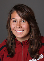 STANFORD, CA - OCTOBER 22:  Annika Dries of the Stanford Cardinal during water polo picture day on October 22, 2009 in Stanford, California.