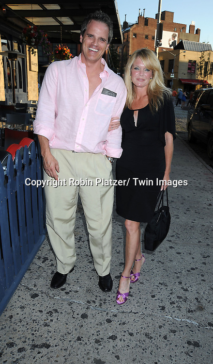 Michael Park and Maura West attending the As The World Turns Final Wrap Party on June 18, 2010 at The Collective in New York City..photo by Robin Platzer/ Twin Images..212-935-0770