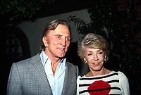 **FILE PHOTO** Anne Douglas Has Passed Away.<br /> <br /> Kirk Douglas And Anne Douglas  1983  <br /> CAP/MPI/RAP<br /> ©RAP/MPI/Capital Pictures