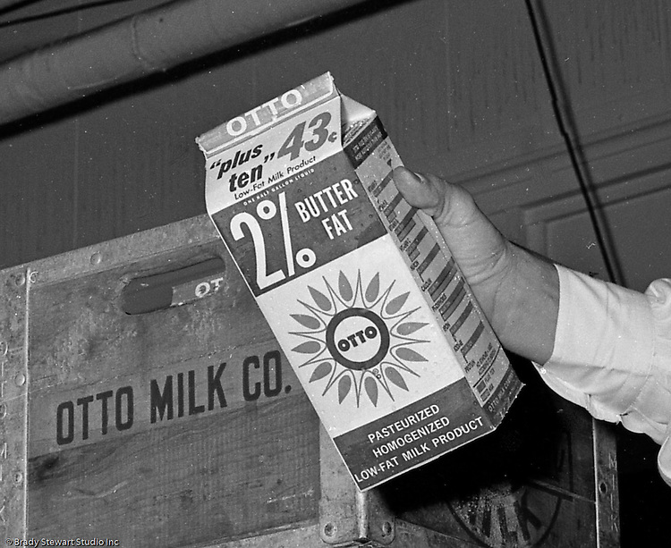 Client: Otto Milk Company<br /> Ad Agency: Ketchum MacLeod & Grove Advertising <br /> Contact:<br /> Product: Otto 2% Milk<br /> Location: Otto Milk warehouse in the Strip District<br /> <br /> Otto Milk Company's new Low-Fat Milk Product