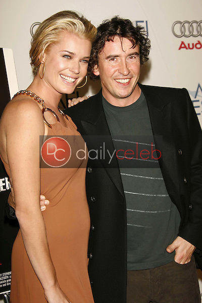 """Rebecca Romijn and Steve Coogan<br />at the AFI Fest 2006 Screening of """"Lies and Alibis"""". Arclight Cinemas, Hollywood, CA. 11-10-06<br />Dave Edwards/DailyCeleb.com 818-249-4998"""