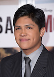 Johnny Ortiz attends The Disney Premiere of McFarland, USA held at The El Capitan Theater  in Hollywood, California on February 09,2015                                                                               © 2015 Hollywood Press Agency
