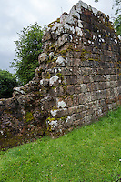 Hare Hill, Cumbria, England, UK.  A Section of Hadrian's Wall Rebuilt in the 19th. Century.