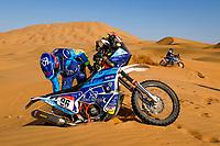 4th January 2021; Dakar Rally stage 2;  96 Albero Puig Daniel (esp), KTM, Team un Diabetico en el Dakar, Moto, Bike, atmosphere during the 2nd stage of the Dakar 2021 between Bisha and Wadi Al Dawasir, in Saudi Arabia on January 4, 2021