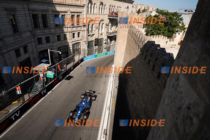 31 OCON Esteban (fra), Alpine F1 A521, action during the Formula 1 Azerbaijan Grand Prix 2021 from June 04 to 06, 2021 on the Baku City Circuit, in Baku, Azerbaijan -<br /> FORMULA 1 : Grand Prix Azerbaijan <br /> 05/06/2021 <br /> Photo DPPI/Panoramic/Insidefoto <br /> ITALY ONLY