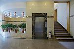 Ground Floor Entrance Lobby And Lift, Asiatic Petroleum Building, Hankou (Hankow).