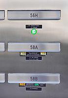 Nederland Amsterdam- 2020  Ja Nee stickers op brievenbussen. Foto Berlinda van Dam / Hollandse Hoogte